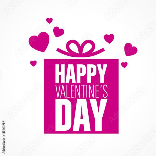 Fotografie, Obraz  happy valentine's day