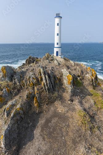 Poster Vuurtoren Lighthouse of Cabo Home (Cangas de Morrazo, Pontevedra - Spain).