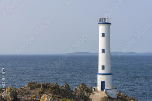 Foto op Aluminium Vuurtoren Lighthouse of Cabo Home (Cangas de Morrazo, Pontevedra - Spain).