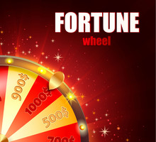 Symbol Of Spinning Fortune Whe...