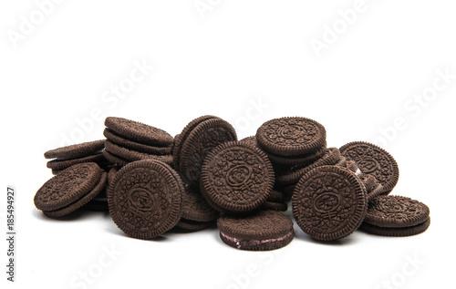 Foto auf AluDibond Kekse Oreo cookies