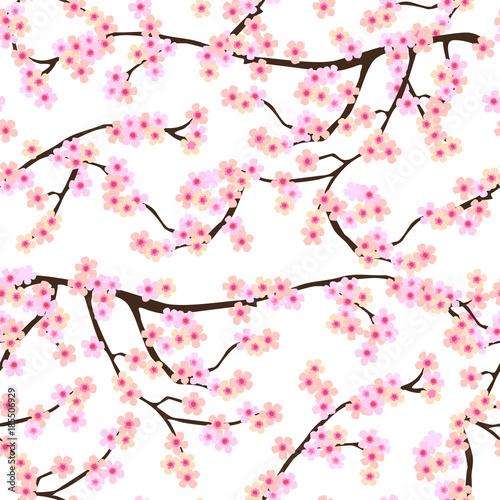 sakura-kwiat-w-japonskim-ogrodzie-bezszwowe-wektor-wzor-z-kwitnacych-kwiatow-wisni