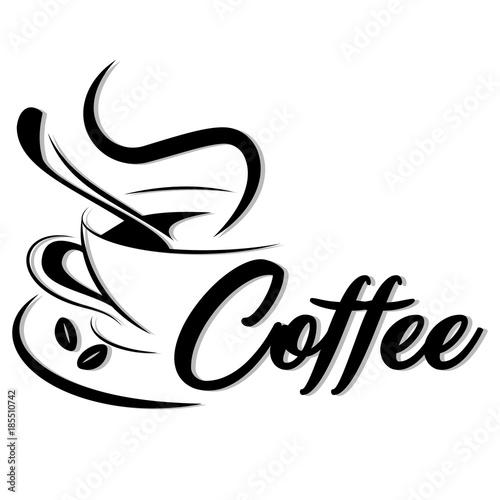 Fototapeta vector coffee logo obraz