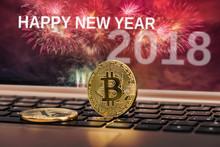 Happy New Year 2018 With Firew...