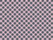 Pink And Grey Circle Background