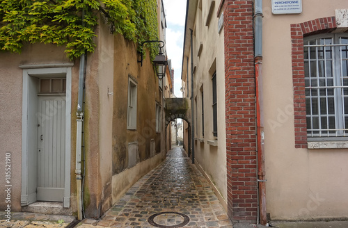 Narrow alley Chartres France