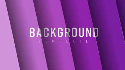 Design of vector background with soaring sheets with ultraviolet gradient.