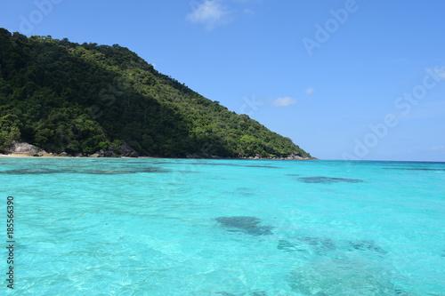 Papiers peints Turquoise Similan islands