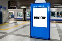 Mock Up Blank Advertising  Bil...
