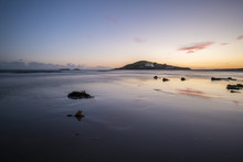 Burgh Island At Sunset In South Devon.
