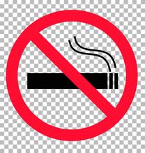 No Smoking Sign Transparent Ba...