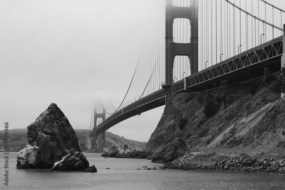 Photo & Art Print Blick von der Nordostseite auf die Golden Gate bei ...