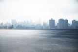 Fototapeta City - City skyline wallpaper