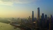 The scenery of Guangzhou in China High altitude unmanned aerial vehicle, 4K, video