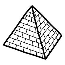 Pyramid / Cartoon Vector And I...
