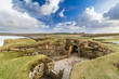 canvas print picture - Skara Brae. One of Europe`s best preserved Neolithic sites, Orkney, Scotland