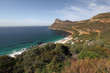 Landscape near the coast at Cape of Good Hope, South Africa