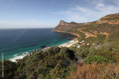 Fotografering  Landscape near the coast at Cape of Good Hope, South Africa
