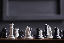 A Set Of White Chess