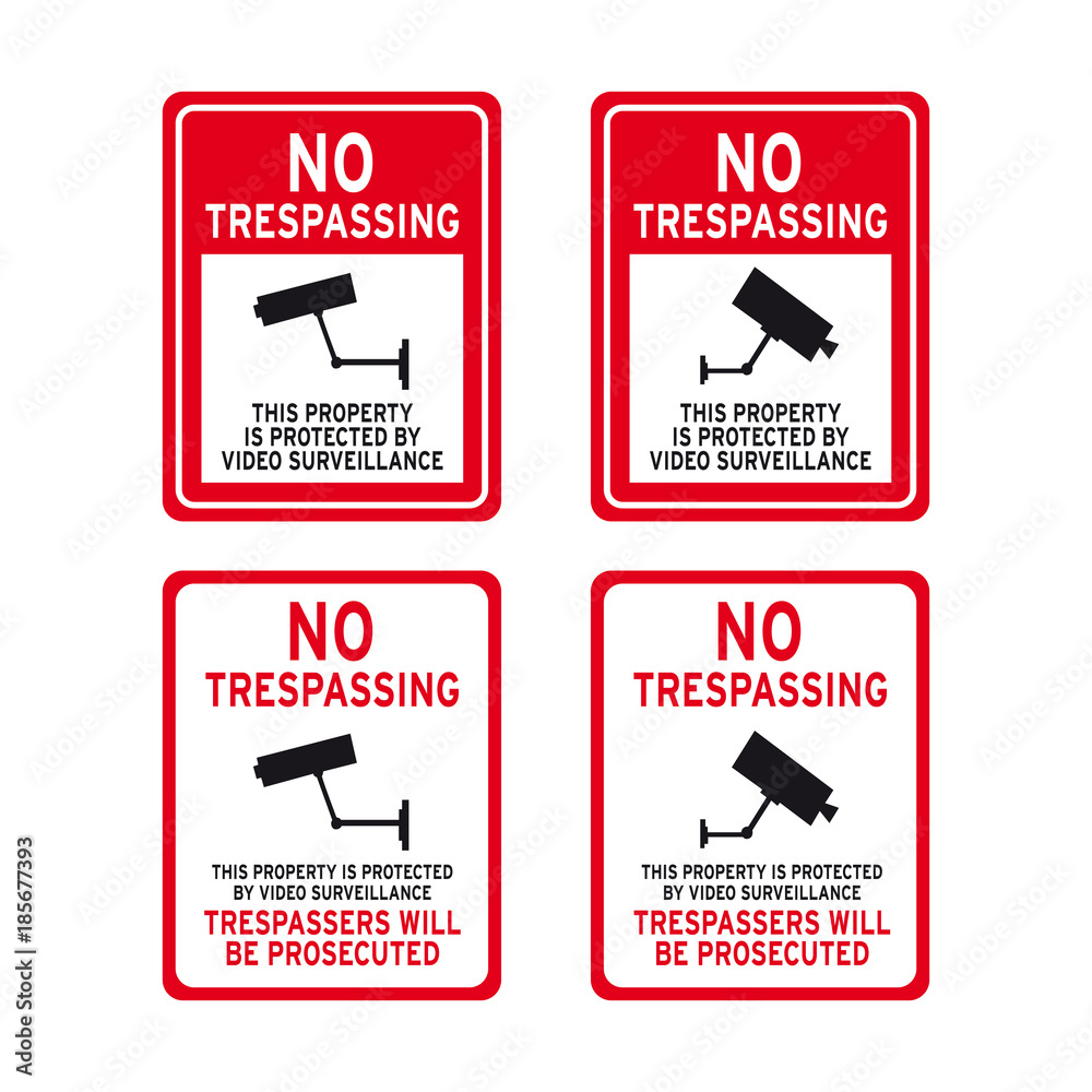 photograph regarding Printable No Trespassing Sign named Photograph Artwork Print Particular dwelling no tresping