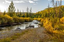 Sunset Creek - An Autumn Mount...
