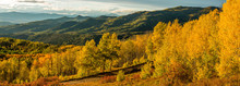 Sunset Golden Valley - A Panor...