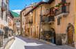 Scenic sight in Scanno, province of L'Aquila, Abruzzo, central Italy.