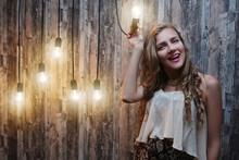 Crazy Idea Lamp Woman