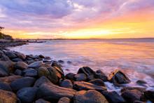 Sunset At Noosa National Park ...