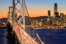 San Francisco Bay Bridge And S...