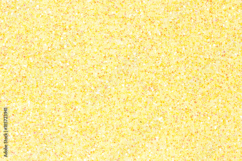 Fényképezés  Light yellow ethylene vinyl acetate (EVA) with glitter.