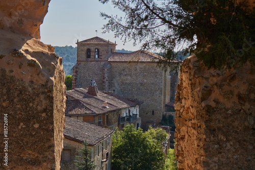 Calatañazor medieval village in Soria province, Spain
