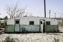 Torn Trailer In Salton Sea, Ca...