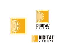 Square Digital Lighting Like S...