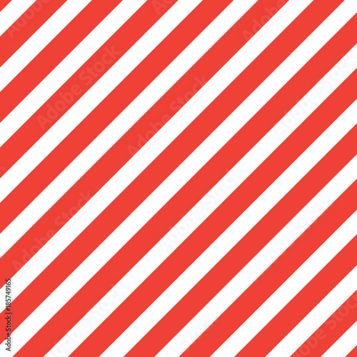 Cotton fabric Red diagonal lines vector background.