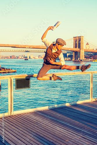 Fotografie, Obraz  New York City Boy