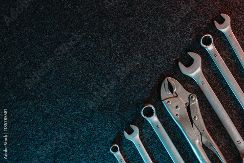 Photo Spanners on a dark background