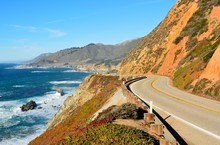 Highway 1 Running Along Pacifi...