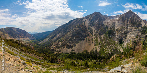 Fotobehang Natuur Park Beautiful nature of the Yosemite National Park with forests lakes and mountains