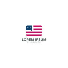 American Chat Logo