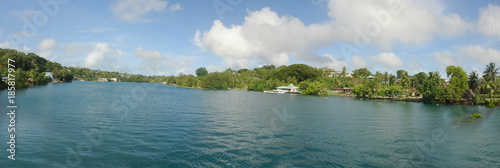 Colonia,  capital of the State of Yap, Micronesia