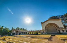 Front View Of Spreckels Organ Pavilion