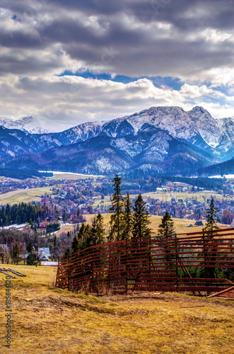 gory-zima-panorama-zakopanego