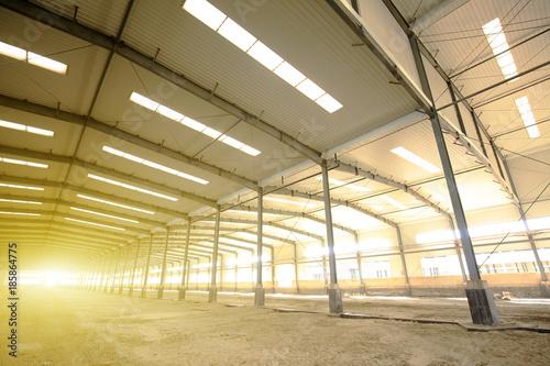 Staande foto Industrial geb. Factory workshop, steel structure