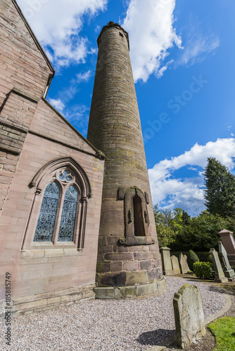 Brechin Cathedral Scotland (Showing the Tower) Wallpaper Mural