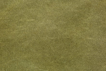 Rough Olive Canvas Texture