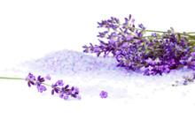 Lavender With Sea Salt Isolate...