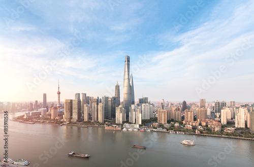 Foto op Aluminium Shanghai Shanghai skyline and cityscape