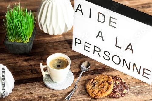 Fotografía  Table lumineuse : Aide à la personne