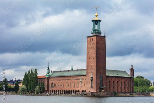 Foto auf Acrylglas Stockholm City Hall (Stadhuset). Stockholm, Sweden